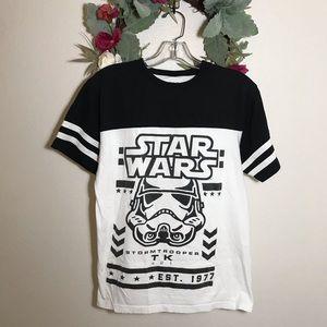 Star Wars Storm Trooper Baseball Tee